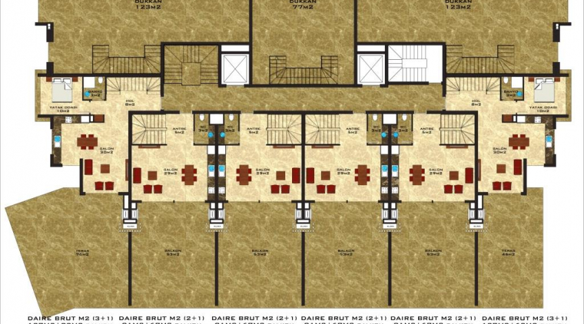 Vesta Star Lower floor of ground floor duplex